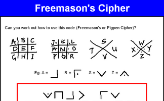 Freemason's Cipher